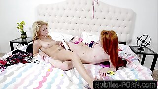 Dolly Little And Expect Harper Pussy Licking And Toys